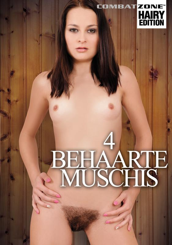 4 Behaarte Muschis