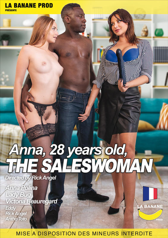 Anna 28 years old the saleswoman