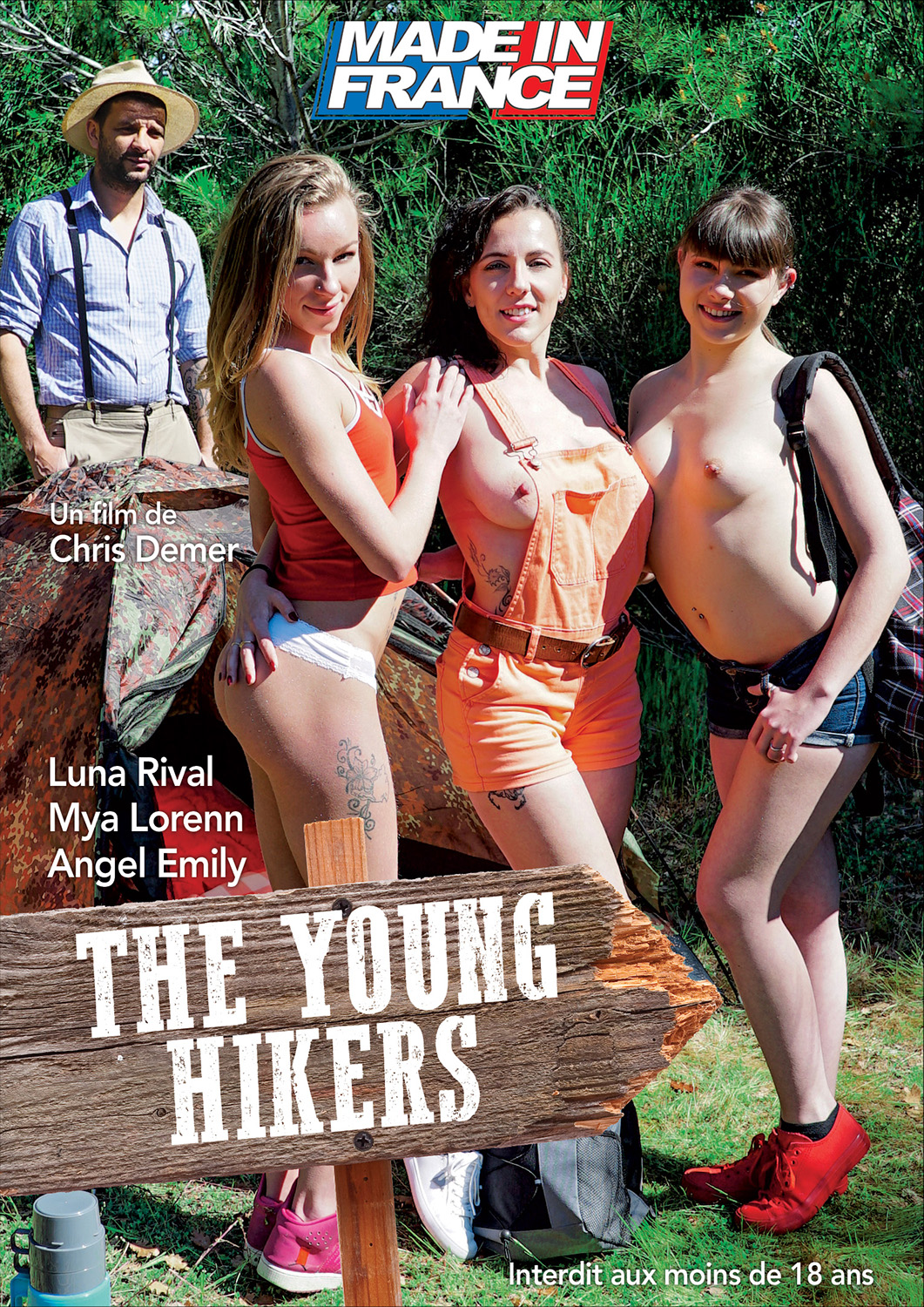 The young hikers