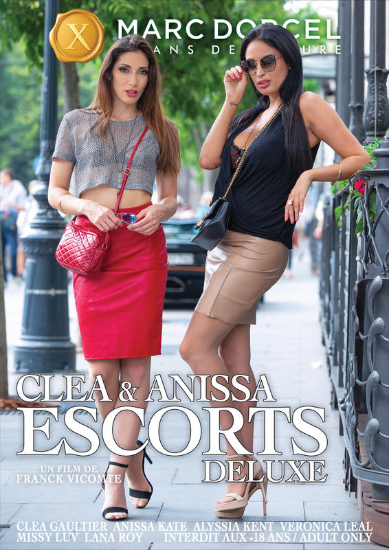 Cléa and Anissa escorts deluxe