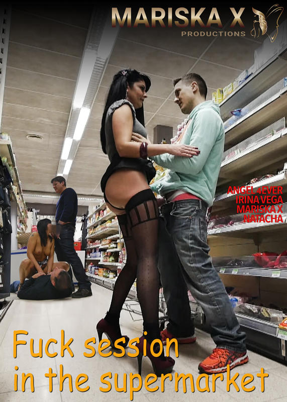 Fuck session in the supermarket