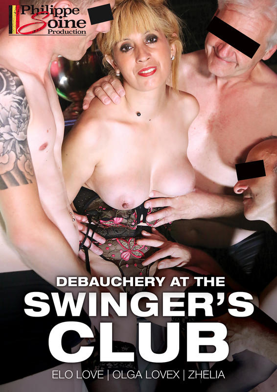 Debauchery at the swingers club