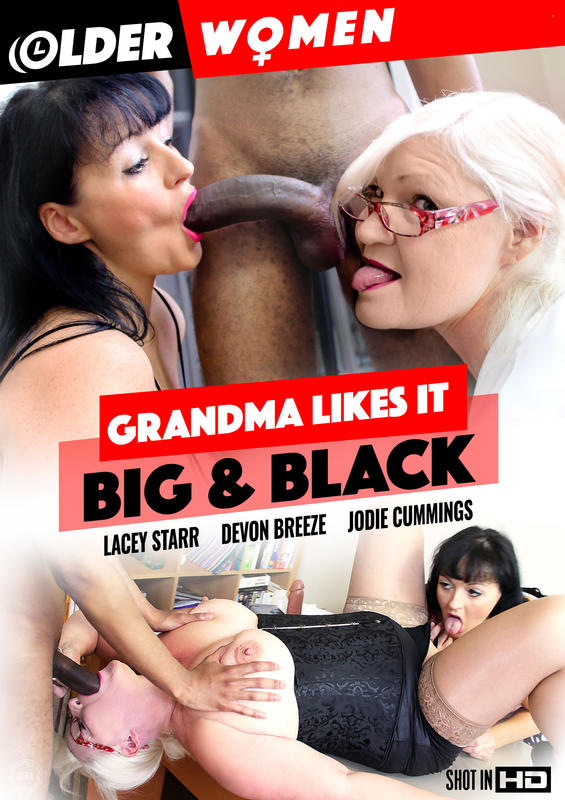 Grandma likes it big & black