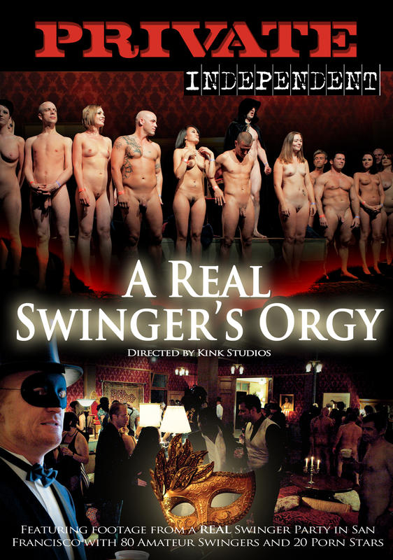 A real swinger orgy